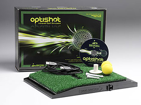 Optishot Golf Simulator Swing Analyzer