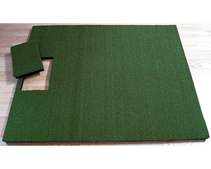 "Single Stance Mat - Universal 1.75"" Thick"